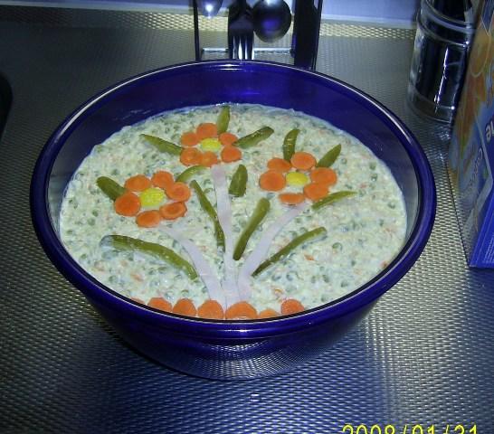 Ruska Salata Recept
